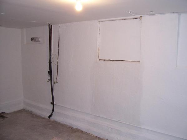 water damage restoration after